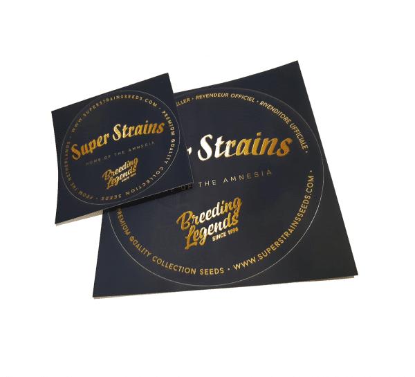 Super Strains Sticker Set